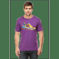 worry less purple - male premium tshirt